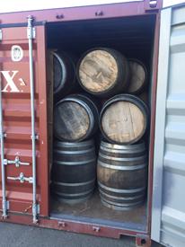 まもなく入荷!! 中古ワイン樽(Empty Used Barrels)